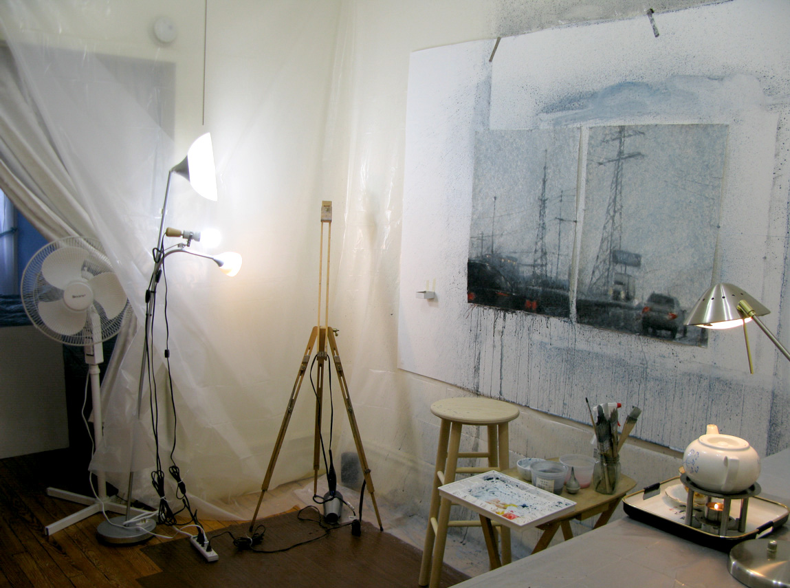 Another View Of My Home Art Studio Part 71