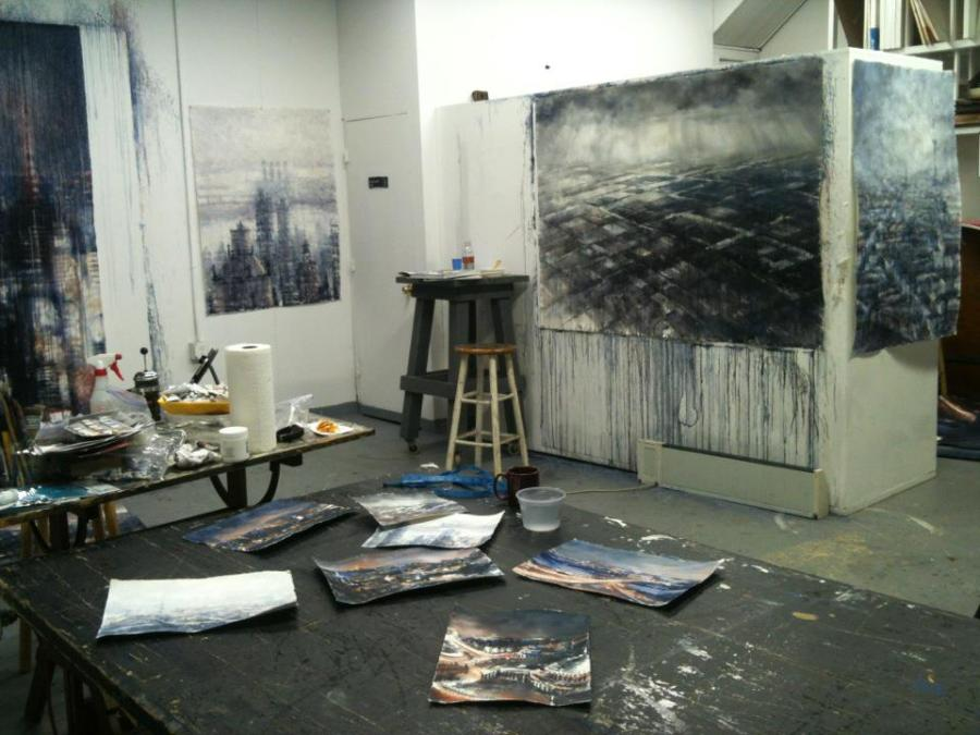 Vytlacil studio space, 2012